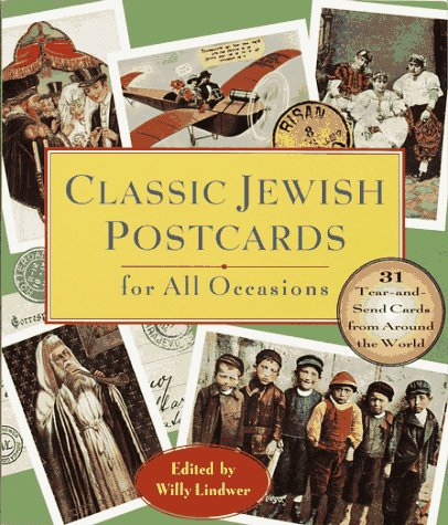 Classic Jewish Postcards for All Occasions: 31 Tear-and-Send Cards from Around the World Willy Lindwer