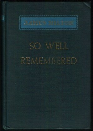 Free download so well remembered pdf by james hilton no1 source so well remembered fandeluxe Epub