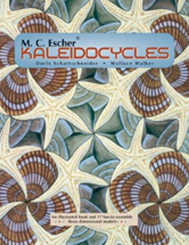 M. C. Escher ® Kaleidocycles: An Illustrated Book And 17 Fun To Assemble Three Dimensional Models M.C. Escher