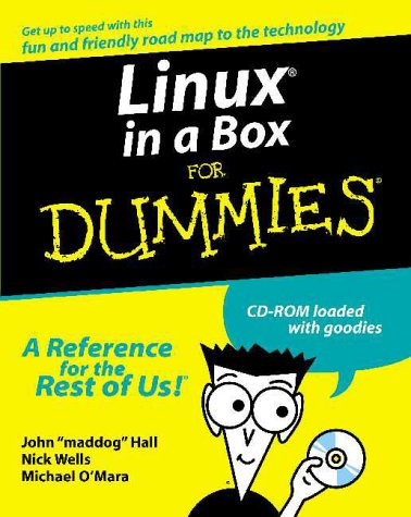 Linux in a Box for Dummies, (Set Includes 3 CD-ROM Disks) [With 3 CD ROMs]  by  Jon Hall