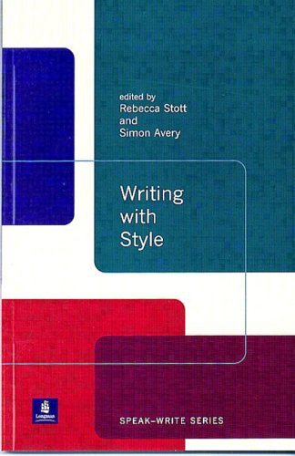 Writing with Style Rebecca Stott