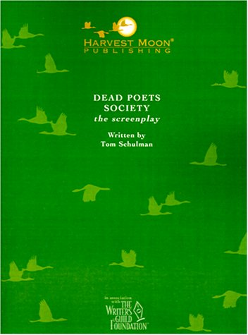 the maturity of crabbe in dead poets society by tom schulman Dead poets society [tom schulman] on amazoncom free shipping on qualifying offers.