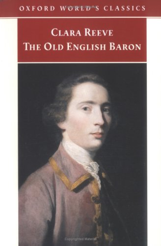 Book cover of The Old English Baron by Clara Reeve