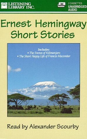 Short Stories Ernest Hemingway