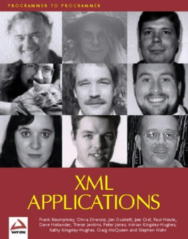 XML Applications  by  Frank Boumphrey