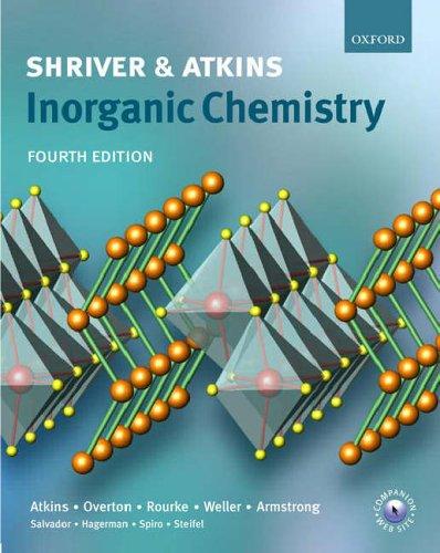 Shriver & Atkins Inorganic Chemistry Peter   Atkins