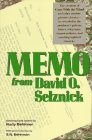 Memo from David O. Selznick by Rudy Behlmer
