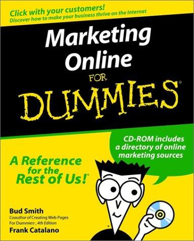 Marketing Online For Dummies Bud E. Smith