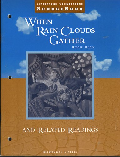 analysis of when rain clouds gather by bessie head Eng1501/1 111 section 4: when rain clouds gather (bessie head) ful friendships with people like dinorego, mma millipede, george, gilbert, paulina and maria we learn that the process of healing involves makhaya working through his suffering by learning to trust and believe in the charac-ters listed above.