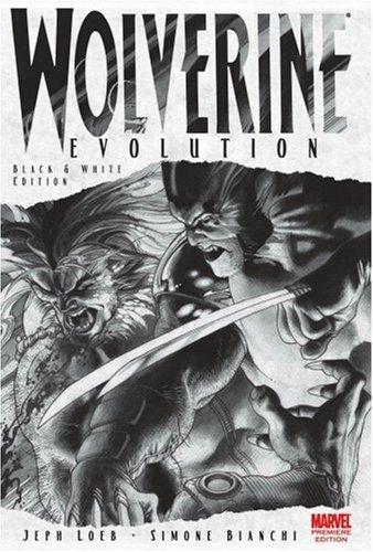 Wolverine: Evolution Black and White Sketch Book Premiere  by  Jeph Loeb
