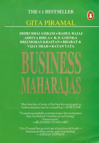 book report on business maharajas gita parimal Piramal, gita pub date january companies - business book summaries1997, vol 1 and directly employ at least 650,000 peoplebusiness maharajas is about.