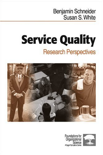 Service Quality: Research Perspectives  by  Susan S. White