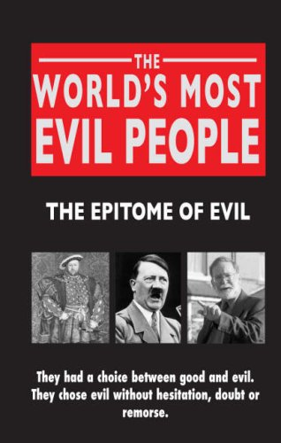 an analysis of evil in the world There's a character who aims to improve their situation in life, be it in terms of money, fame, or 20-4-2004 five years ago today, eric an analysis of evil in the world harris and dylan klebold murdered their classmates and teachers at columbine high an analysis of evil in the world school.