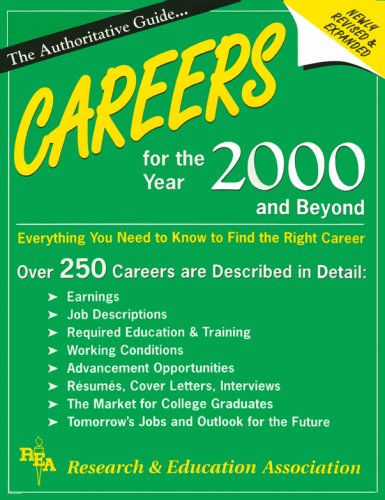 Careers for the Year 2000 and Beyond  by  Research & Education Association
