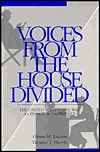 Voices From The House Divided: The United States Civil War As Personal Experience  by  Glenn M. Linden