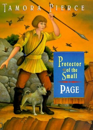 Book Review; Tamora Pierce's Page