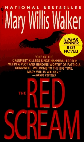The Red Scream  (Molly Cates #1)  - Mary Willis Walker