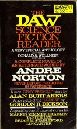 The Daw Science Fiction Reader Donald A. Wollheim