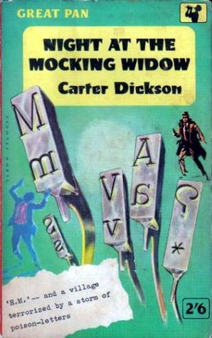 Night at the Mocking Widow (Sir Henry Merrivale, #20)  by  Carter Dickson
