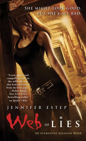Book Review: Jennifer Estep's Web of Lies