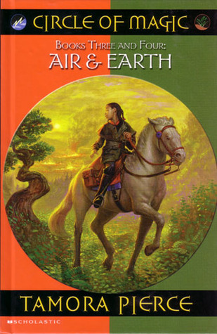 Cover: Circle of Magic 3 & 4: Air and Earth (Tamora Pierce)