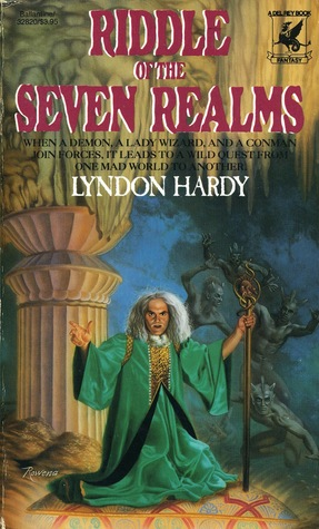 Riddle of the Seven Realms (Magics, #3) Lyndon Hardy
