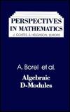Algebraic D-Modules Armand Borel