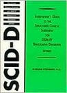 Structured Clinical Interview for Dissociative Disorders Interviewer's Guide book cover