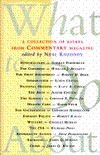 What to Do About--: A Collection of Essays from Commentary Magazine  by  Neal Kozodoy