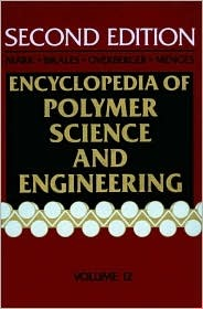 Polyesters to Polypeptide Synthesis, Volume 12, Encyclopedia of Polymer Science and Engineering, 2nd Edition  by  Jacqueline I. Kroschwitz