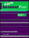 More Grammar Plus: Workbook v. 1  by  Daphne Mackey