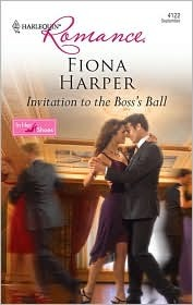 Invitation to the Boss's Ball  -  by Fiona Harper