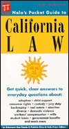 Nolos Pocket Guide to California Law  by  Lisa Guerin