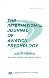 Aircraft Automation: A Special Issue of the International Journal of Aviation Psychology  by  Kenneth Funk
