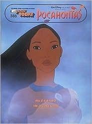 E.Z. Play Today Pocahontas: For Organs, Pianos & Electronic Keyboards Alan Menken