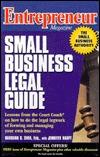 Entrepreneur Magazine Small Business Legal Guide Barbara C.S. Shea