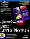 Using Lotus Notes 4 (Using ... Cate Richards