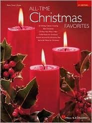 All-Time Christmas Favorites  by  Hal Leonard Publishing Company