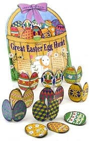 Great Easter Egg Hunt (A Hide & Seek Story Book Set)  by  Mary Packard