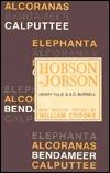 Hobson-Jobson  by  Henry Yule