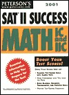 Petersons 2001 Sat II Success: Math Ic and IIC  by  Mark Weinfeld