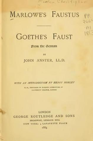 "a comparison of hamlet by william shakespeare and faust by goethe Books that liszt read during his twenties were to create a lasting impression: he famously revisited goethe and dante when writing the faust and dante symphonies, and soon after returned to shakespeare""s hamlet liszt wrote the symphonic poem in 1858, during his tenure as kapellmeister at the weimar court theatre."