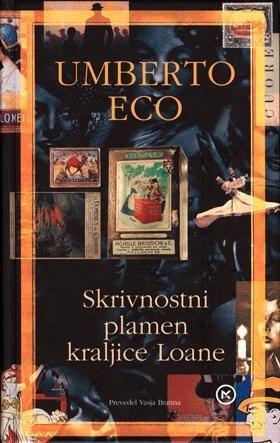 Skrivnostni plamen kraljice Loane Umberto Eco