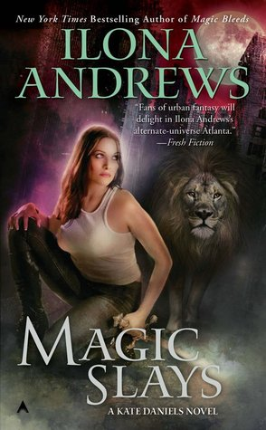 Magic Slays (Kate Daniels, #5)