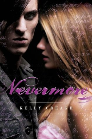 Nevermore by Kelly Creagh book cover