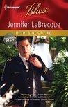 In the Line of Fire (Harlequin Blaze #598) (Uniformly Hot!, #15)