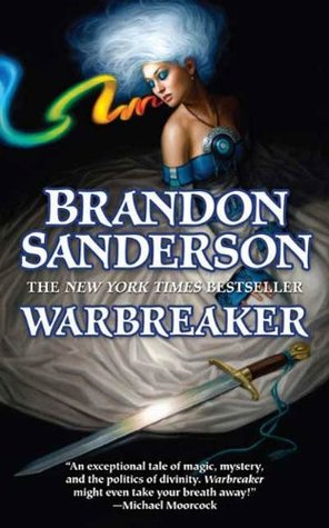 Review: Warbreaker by Brandon Sanderson (@jessicadhaluska, @BrandSanderson, @torbooks)