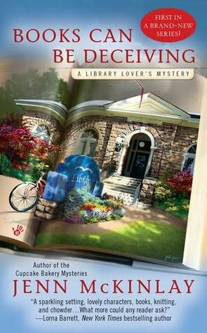 Library Lover's Mystery series, by Jenn McKinlay