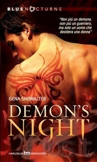 Demon's Night (Lords of the Underworld #1) - [Gena Showalter]