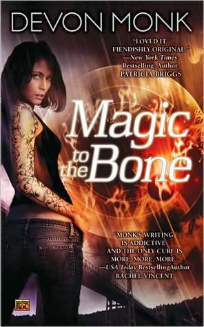 Book Review: Devon Monk's Magic to the Bone